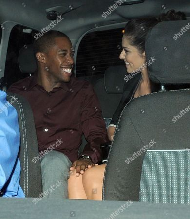 Stock Image of Tre Holloway and Cheryl Cole