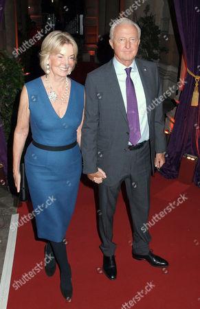 Hilary Weston and Galen Weston