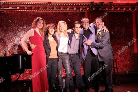 Stock Picture of Christiane Noll, Andrea Martin, Sherie Rene Scott, Seth Rudetsky, David Friedman and Mark Nadler
