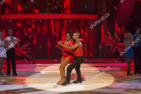 Tessa Sanderson and Yannick Bonheur