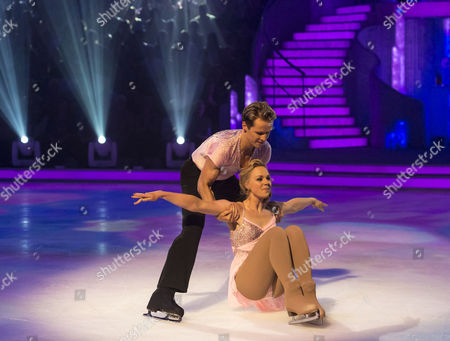 Stock Picture of Pippa Wilson and Mark Hanretty