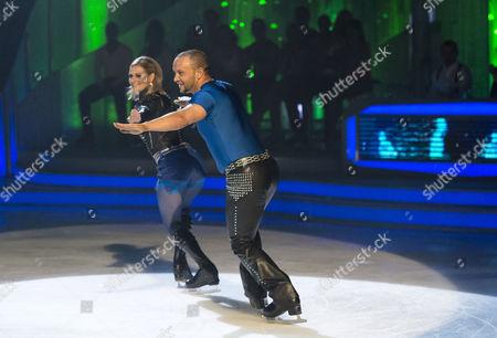Jamie Baulch and Maria Filippov
