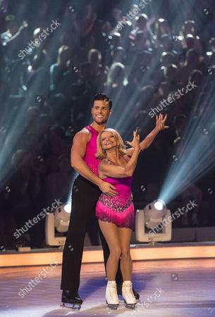 Stock Image of Olga Korbut and Matthew Gonzalez