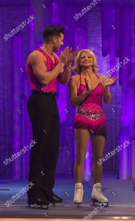 Editorial image of 'Dancing on Ice Goes Gold' TV Programme,  Elstree Studios, Borehamwood, Britain  - Mar 2012