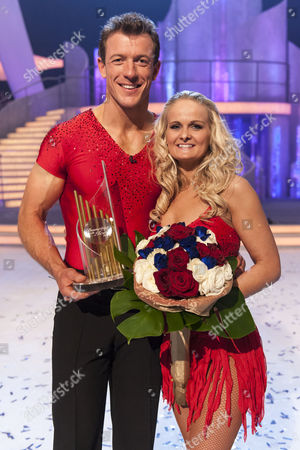 Winners of the show Steve Williams with his Pro Dancing partner Katie Stainsby