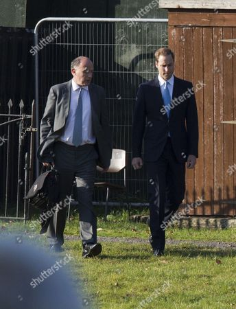 Jamie Lowther-Pinkerton and Prince William