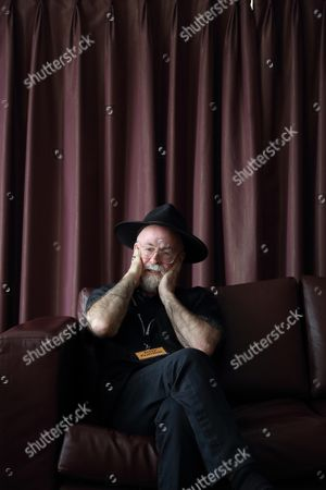 Stock Picture of Sir Terry Pratchett
