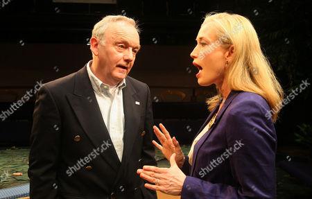 Bruce Alexander as President Emmerson Hale and Samantha Coughlan as Mrs Evelyn Hale