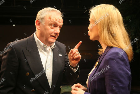 Stock Picture of Bruce Alexander as President Emmerson Hale and Samantha Coughlan as Mrs Evelyn Hale
