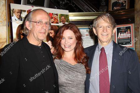 Christopher Lloyd, Melissa Archer and Ric Klass