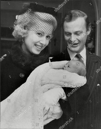 Politician Mp Lord Bathurst 8th Earl Bathurst And Countess Of Bathurst With Their 2nd Child Lady Henrietta Mary Lilias Bathurst At St Marys Hospital In Paddington Henry Allen John 8th Earl Bathurst Dl (1 May 1927 A 16 October 2011) Styled Lord Apsley From 1942 To 1943 Was A British Peer Soldier And Conservative Politician. He Was Most Recently Known For An Altercation With Prince William. Marriage : Judith Mary Nelson (1959 Adivorced 1976) With Whom The Earl Had Three Children Miss Gloria Clarry (feb 1978).