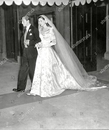 Wedding Of David Somerset 11th Duke Of Beaufort To Bride Lady Caroline Jane Thynne Duchess Of Beaufort David Robert Somerset 11th Duke Of Beaufort (born 23 February 1928) Known As David Somerset Until 1984 Is A British Peer. He Is The Son Of Henry Robert Somers Fitzroy De Vere Somerset And Bettine Violet Malcolm And Was Educated At Eton College. He And His Family Descend In The Male Line From Edward Iii Of England; The First Somerset Was An Legitimized Son Of Henry Beaufort Duke Of Somerset Whose Grandfather Was An Legitimized Son Of John Of Gaunt. He Married Firstly Lady Caroline Jane Thynne (28 August 1928 A 22 April 1995) Daughter Of Henry Thynne 6th Marquess Of Bath On 5 July 1950. The Marriage Took Place At St Peter's Church Eaton Square In The Presence Of The King And Queen And Members Of The Royal Family. David Somerset Married Secondly Miranda Elisabeth Morley (born 1947) On 2 June 2000. She Is A Daughter Of Brigadier General Michael Frederick Morley. Beaufort Was Nominated To The International Best Dressed List Hall Of Fame In 1988.
