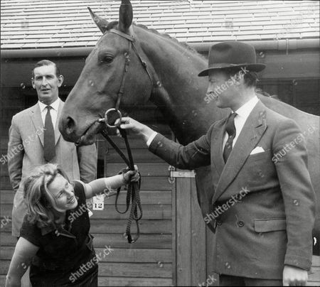 Politician Mp Lord Bathurst 8th Earl Bathurst With Miss Pat Provatoroff And Horse 'paseka' She Has Sold To The Lord Henry Allen John 8th Earl Bathurst Dl (1 May 1927 A 16 October 2011) Styled Lord Apsley From 1942 To 1943 Was A British Peer Soldier And Conservative Politician. He Was Most Recently Known For An Altercation With Prince William. Marriage : Judith Mary Nelson (1959 Adivorced 1976) With Whom The Earl Had Three Children Miss Gloria Clarry (feb 1978).