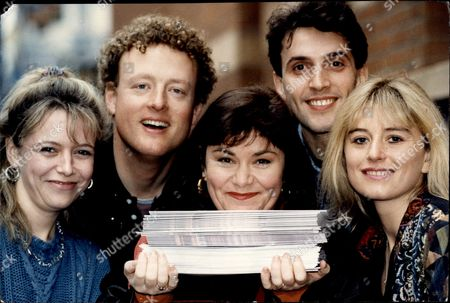 Actress And Comedian Dawn French With Kate Young Howard Goodall Gareth Snook And Caroline Mander Appearing In 'the Hired Man'.