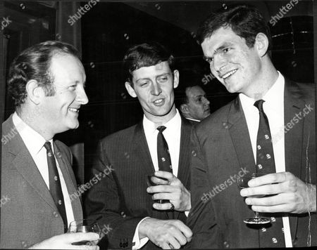Frank Bough With Cricketers Pat Pocock And Bob Cottam.