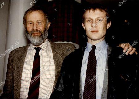 Mountaineer Sir Chris Bonington With His Son David.