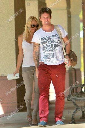 Pamela Anderson and Tristan MacManus