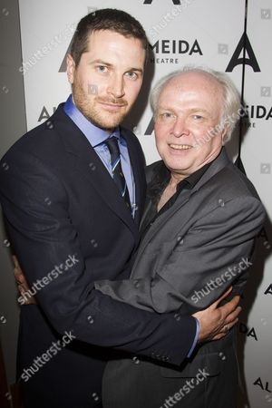 Kieran Bew (Edmund) and Michael Attenborough (Artistic Director)