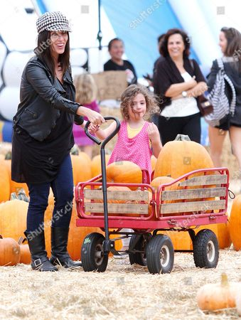Stock Photo of Soleil Moon Frye and Jagger Moon Frye