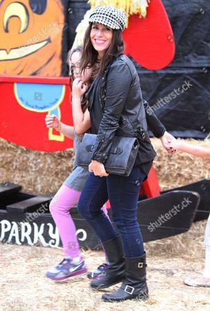 Stock Image of Soleil Moon Frye and daughter Poet Moon Frye