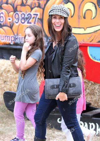 Editorial image of Soleil Moon Frye and family at Mr Bones Pumpkin Patch, Los Angeles, America - 09 Oct 2012