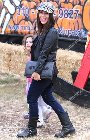 Editorial picture of Soleil Moon Frye and family at Mr Bones Pumpkin Patch, Los Angeles, America - 09 Oct 2012