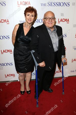 Stock Photo of Judi Lewin and Ben Lewin