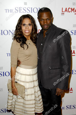Sean Patrick Thomas and wife Aonika Laurent