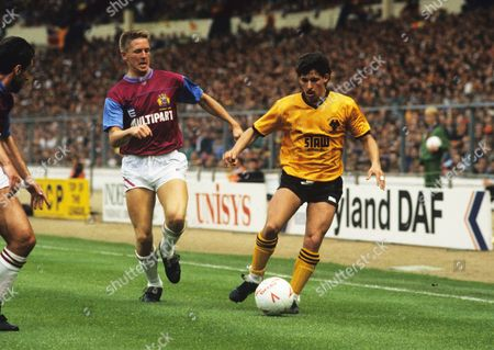 The 1988 Sherpa Van Trophy Final at Wembley Wolverhampton Wanderers V Burnley Andy Thompson