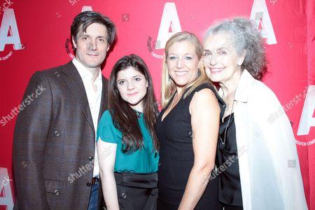 Gareth Saxe, Madeleine Martin, Mary McCann, Mary Beth Peil