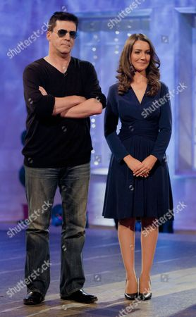 Stock Picture of Andrew Monk [Simon Cowell] and Heidi Agan [Kate Middleton]