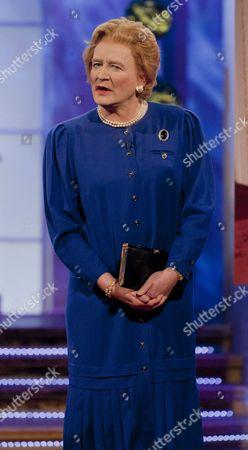 Stock Photo of Steve Nallen [Margaret Thatcher]