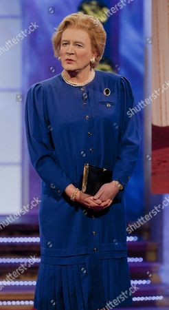 Stock Image of Steve Nallen [Margaret Thatcher]