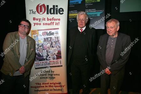 Roger Lewis, Richard Ingrams and Paul Bailey