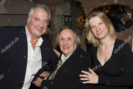 Editorial image of 'All That Fall' press night after party at Assaggetti, London, Britain - 11 Oct 2012
