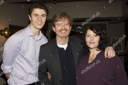 Stock Image of Conor Hinds, Ruairi Conaghan and Catrina Hinds