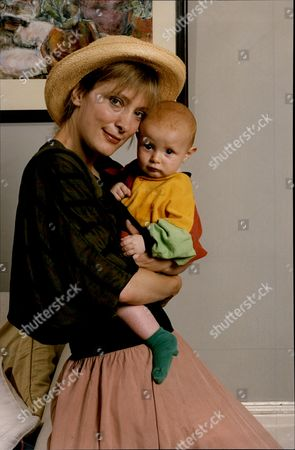 Stock Picture of Actress Kate Buffery And Her Son Harry Katharine Buffery (born 23 July 1957) Is An English Actress/writer Known As Kate Buffery. Buffery Is Possibly Best Known For Her Role In The British Tv Drama Wish Me Luck As Liz Grainger And As Di North In Trial And Retribution. Other Tv Work Includes The Rainbow Catherine Cookson's The Man Who Cried Close Relations Poirot Frankensteins Baby Circles Of Deceit The Orchid House Wing And A Prayer Ruth Rendell-series Pd James-series Midsomer Murders Boon Hartbeat Etc. She Was Nominated For A 1983 Olivier Award As Best Supporting Actress In Daisy Pulls It Off. Further Film Work Includes Emr Dark River Goodbye Charlie Bright Swing Kids And A Long Way Home. She Has Also Worked At The Royal Shakespeare Company Where Parts Included Rosalind In As You Like It Hermione In The Winter's Tale Sue In Golden Girls And At The National Theatre In Two David Hare Premieres And In Cicely Berry's Hamlet . She Performs Extensively On The Radio And As A Voice Over Artist. She Has Spoken On Inequality For Women In The Arts And Media At Several Conferences Including For The Federation Of International Artists For The Sphinx And For Equity. In 2009 She Set Up With Equity The 'viewers Petition' Which Has Over 8 000 Signatures Including Paper Petition Signatories. She Has Two Children Rosanna And Harry.