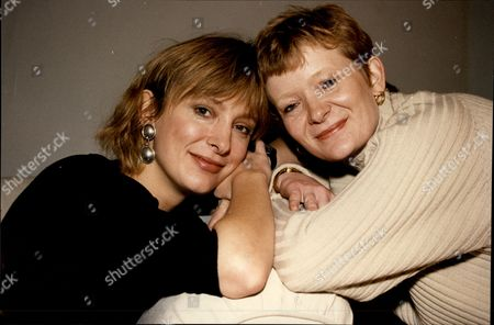 Editorial image of Actress Kate Buffery And Her Sister Liz Buffery (right) Katharine Buffery (born 23 July 1957) Is An English Actress/writer Known As Kate Buffery. Buffery Is Possibly Best Known For Her Role In The British Tv Drama Wish Me Luck As Liz Grainger And As