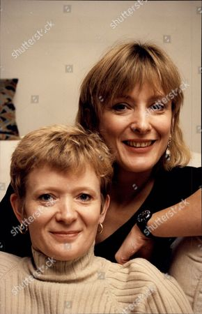 Actress Kate Buffery And Her Sister Liz Buffery (front) Katharine Buffery (born 23 July 1957) Is An English Actress/writer Known As Kate Buffery. Buffery Is Possibly Best Known For Her Role In The British Tv Drama Wish Me Luck As Liz Grainger And As Di North In Trial And Retribution. Other Tv Work Includes The Rainbow Catherine Cookson's The Man Who Cried Close Relations Poirot Frankensteins Baby Circles Of Deceit The Orchid House Wing And A Prayer Ruth Rendell-series Pd James-series Midsomer Murders Boon Hartbeat Etc. She Was Nominated For A 1983 Olivier Award As Best Supporting Actress In Daisy Pulls It Off. Further Film Work Includes Emr Dark River Goodbye Charlie Bright Swing Kids And A Long Way Home. She Has Also Worked At The Royal Shakespeare Company Where Parts Included Rosalind In As You Like It Hermione In The Winter's Tale Sue In Golden Girls And At The National Theatre In Two David Hare Premieres And In Cicely Berry's Hamlet . She Performs Extensively On The Radio And As A Voice Over Artist. She Has Spoken On Inequality For Women In The Arts And Media At Several Conferences Including For The Federation Of International Artists For The Sphinx And For Equity. In 2009 She Set Up With Equity The 'viewers Petition' Which Has Over 8 000 Signatures Including Paper Petition Signatories. She Has Two Children Rosanna And Harry.