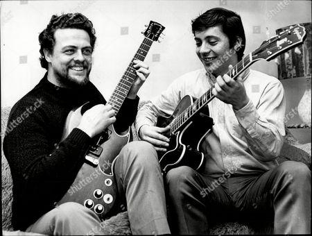 Stock Photo of Session Musicians Big Jim Sullivan And Joe Moretti.