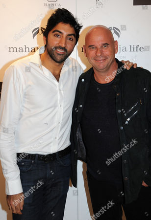 Tarun Mahrotri and Guy Laliberte