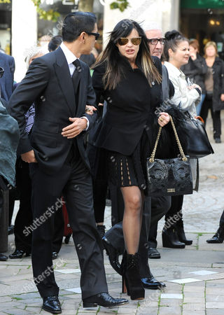 Editorial image of Vidal Sassoon memorial service, St Paul's Cathedral, London, Britain - 12 Oct 2012