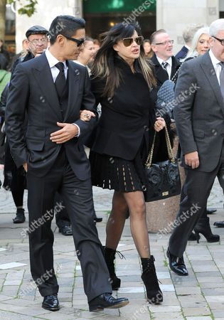 Editorial picture of Vidal Sassoon memorial service, St Paul's Cathedral, London, Britain - 12 Oct 2012