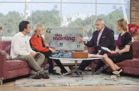 Mike Toolan and Gloria Hunniford with Eamonn Holmes and Ruth Langsford
