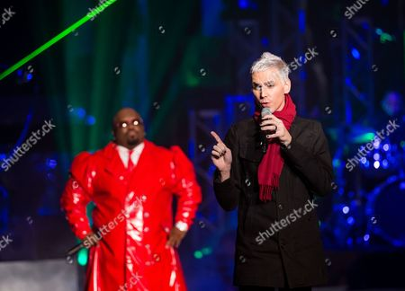 Stock Picture of Cee Lo Green and Tony Vincent