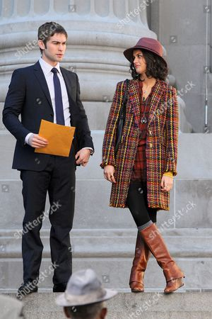 Chace Crawford and Sophia Black