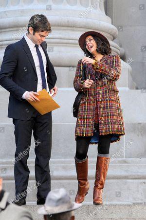 Editorial photo of 'Gossip Girl' on set filming, New York, America - 12 Oct 2012