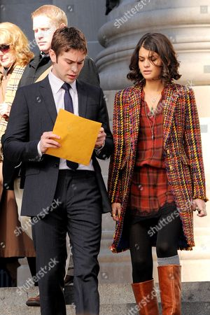 Stock Picture of Chace Crawford and Sophia Black