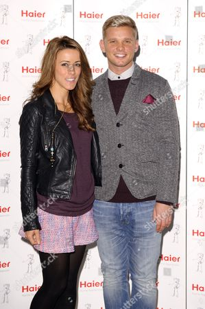 Stock Image of Nicola Tappenden and Jeff Brazier