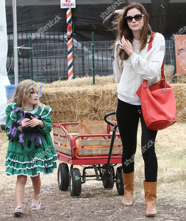Editorial image of Michelle Monaghan out and about, Los Angeles, America - 12 Oct 2012